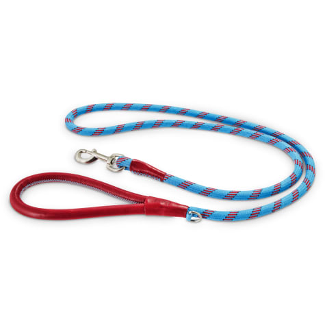 Reddy Cerulean Blue Rope Dog Leash