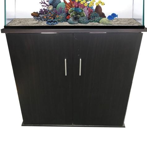 R&J Enterprises 30x12 Espresso Modern Aquarium Cabinet