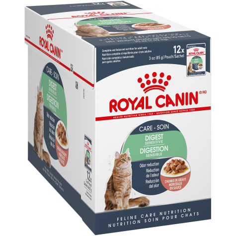 Royal Canin Digest Sensitive Chunks in Gravy Adult Wet Cat Food