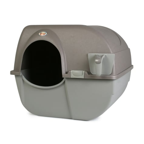 Omega Paw Regular Roll `n Clean Self Cleaning Litter Box for Cats