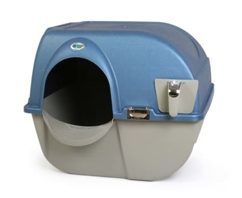 Omega Paw Premium Roll `n Clean Self Cleaning Litter Box for Cats