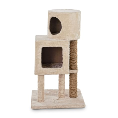 Animaze Double Cat Condo with Scratching Post