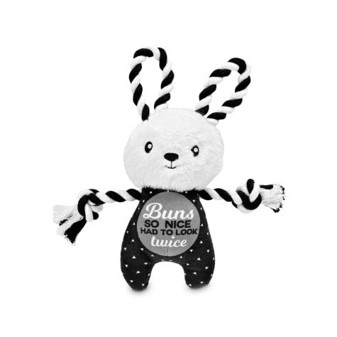 Bond & Co. Twice as Nice Bunny Rope Dog Toy