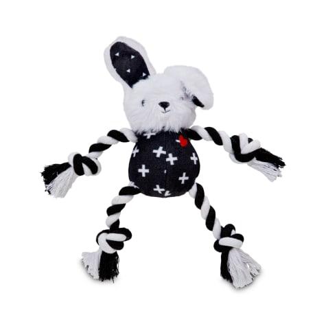 Bond & Co. Floppy Bunny Rope Dog Toy