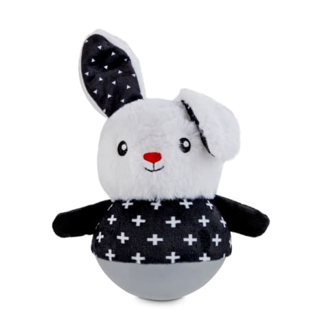 Bond & Co. Wobble Bunny Plush Dog Toy