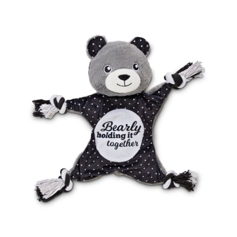 Bond & Co. Super-Star Bear Rope Dog Toy