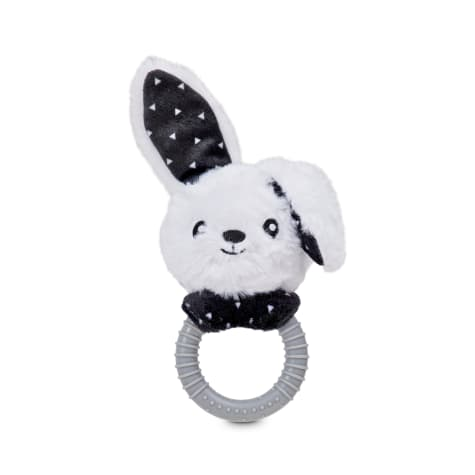 Bond & Co. Floppy Bunny Ring Dog Toy