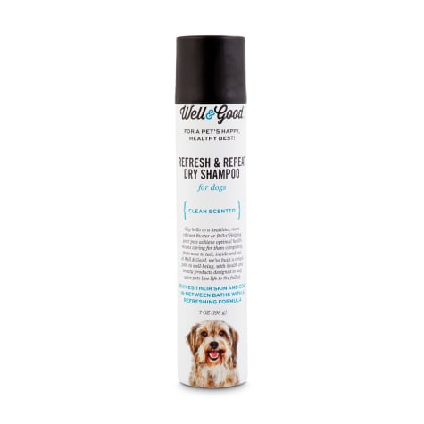 Well & Good Refresh & Repeat Dry Shampoo for Dogs