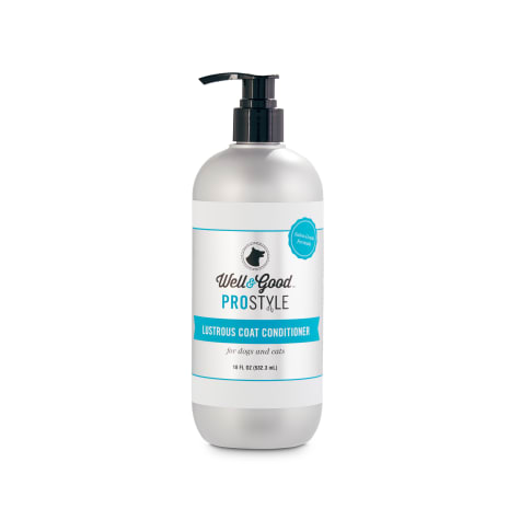 Well & Good ProStyle Lustrous Coat Conditioner for Dogs and Cats