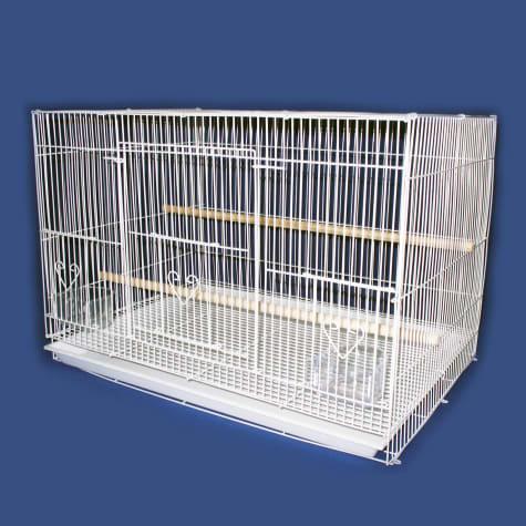 YML White Small Bird Breeding Cage