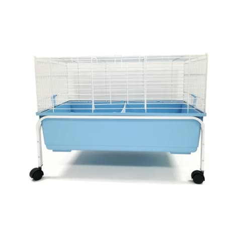 YML Indoor Blue Rabbit Cage With Stand