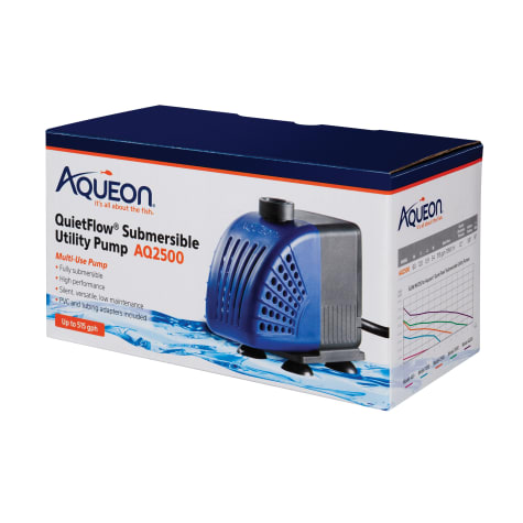Aqueon QuietFlow AQ2500 Submersible Utility Pump