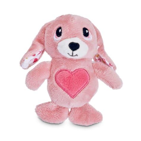 Love My Pup My Bunny Valentine Plush Dog Toy