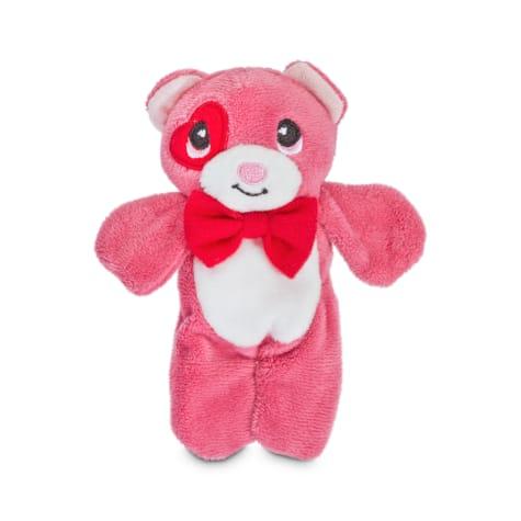 Love My Pup Flattie Bear Plush Dog Toy