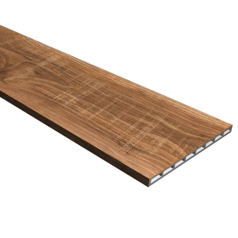 Cali Vinyl Pro Stair Riser, Mesquite
