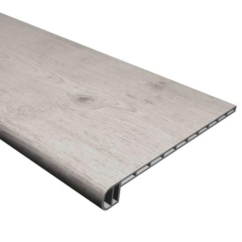Cali Vinyl Pro Stair Tread, Gray Ash