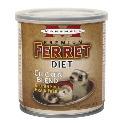 Marshall Pet Products Canned Chicken Blend Ferret Diet Topper