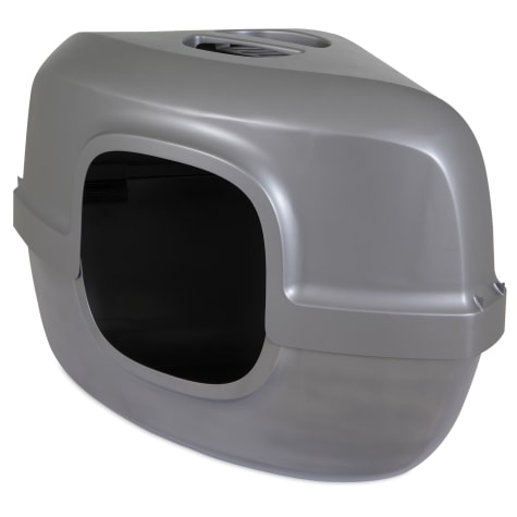 Petmate Hooded Corner Litter Pan for Cats