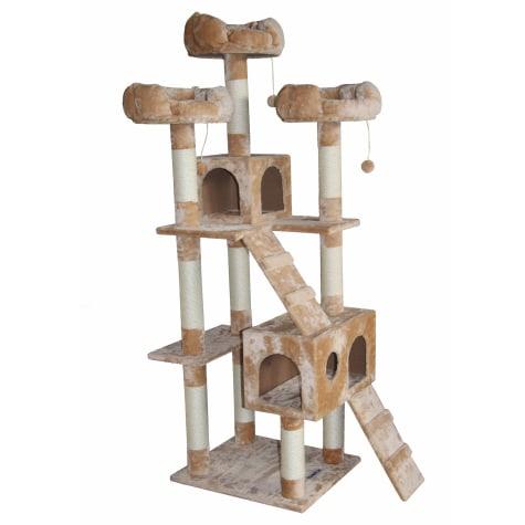 Kitty Mansions Bel Air Beige Cat Tree