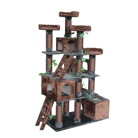 Kitty Mansions Big Horn Cat Tree