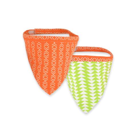 Territory Orange & Green Reversible Bandana for Dogs