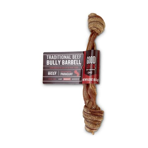 Good Lovin' Traditional Beef Bully Barbell Dog Chew