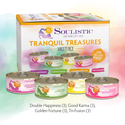 Soulistic Tranquil Treasures Variety Pack Wet Cat Food