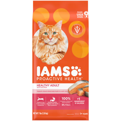 Iams Proactive Health With Salmon Adult Healthy Dry Cat Food