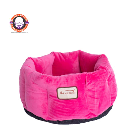 Armarkat Cozy Cat Bed in Pink