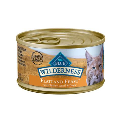 Blue Buffalo Blue Wilderness Regionals Flatland Feast  Wet Cat Food