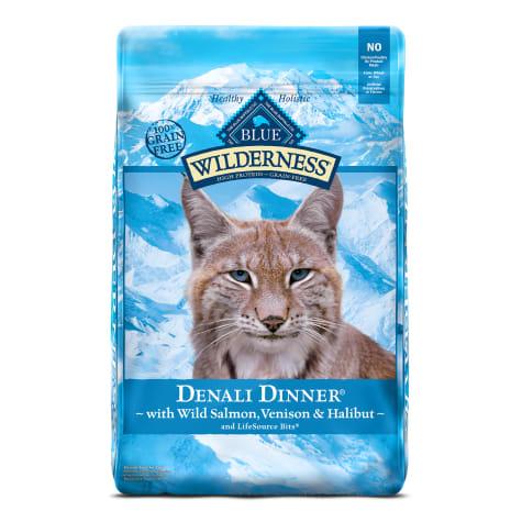 Blue Buffalo Blue Wilderness Regionals Denali Dinner Dry Cat Food