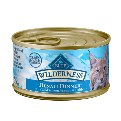 Blue Buffalo Blue Wilderness Regionals Denali Dinner Wet Cat Food