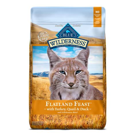 Blue Buffalo Blue Wilderness Regionals Flatland Feast  Dry Cat Food