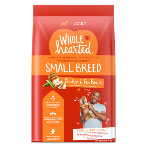 WholeHearted Grain Free Small-Breed Chicken and Pea Recipe Adult Dry Dog Food