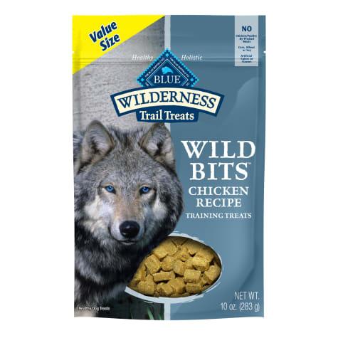 Blue Buffalo Wilderness Bits Chicken Value Added Vitamins Dog Treat