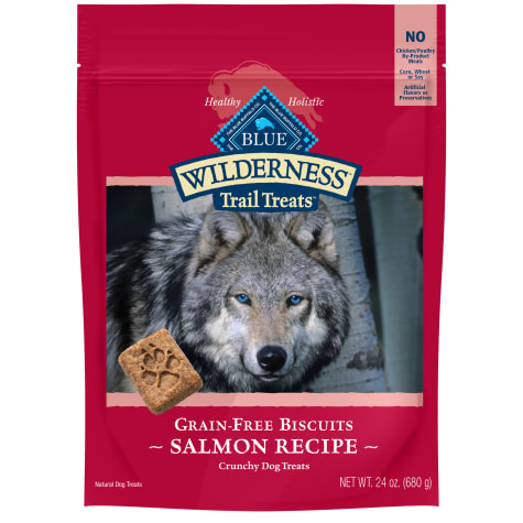 Blue Buffalo Wilderness Biscuit Salmon Dog Treat