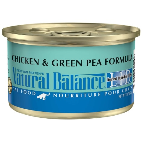 Natural Balance L.I.D. Limited Ingredient Diets Chicken & Green Pea Formula Wet Cat Food