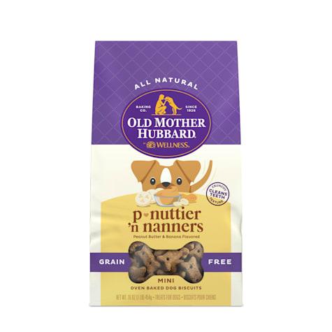 Old Mother Hubbard Mini P-Nuttier 'N Nanners Grain Free Dog Treats