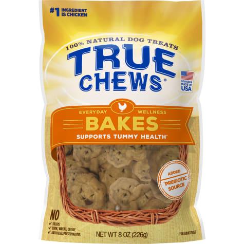 True Chews Everyday Wellness Bakes Supports Tummy Health Dog Treats