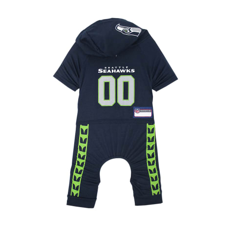 Pets First Seattle Seahawks Team Uniform Onesi for Dogs