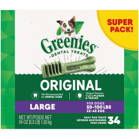 Greenies Original Natural Dental Dog Treats