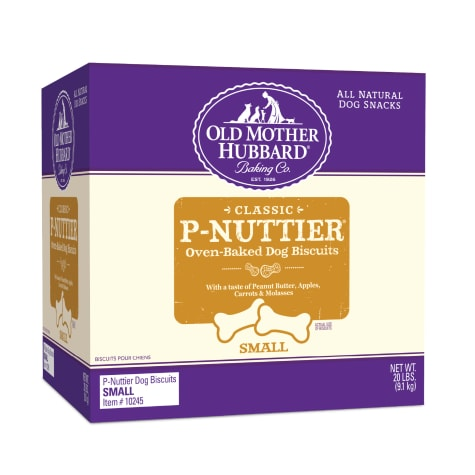 Old Mother Hubbard Crunchy Classic Natural P-Nuttier Small Dog Biscuits