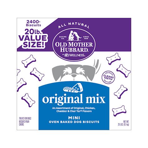 Old Mother Hubbard Crunchy Classic Natural Original Assortment Mini Dog Treats
