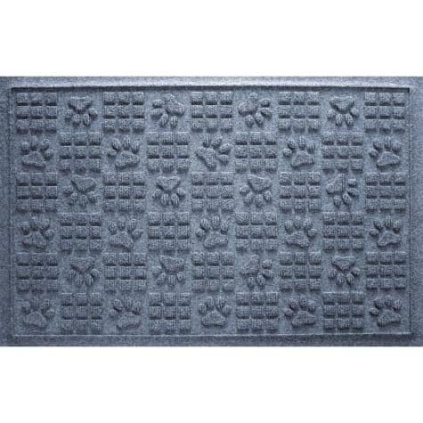 Bungalow Flooring Paw Squares Bluestone Dog Mat