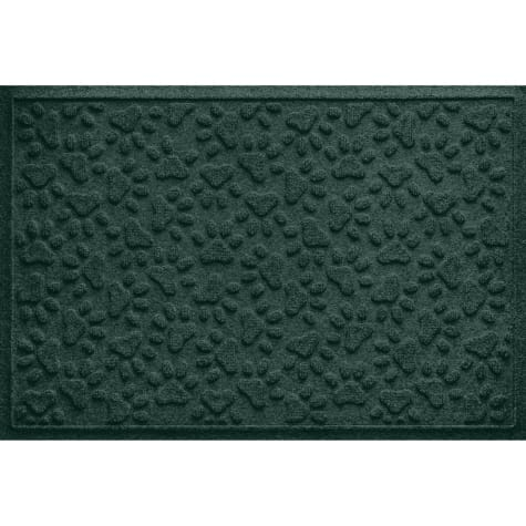 Bungalow Flooring Scattered Paws Evergreen Dog Mat