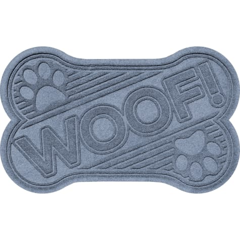 Bungalow Flooring Woof bone Bluestone Dog Mat