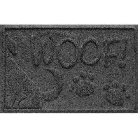 Bungalow Flooring Wag the Dog Charcoal Mat