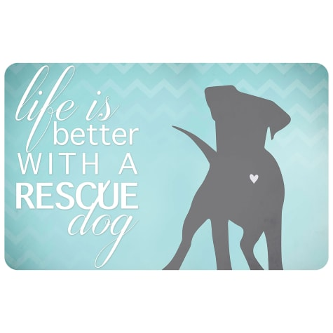 Bungalow Flooring Better with a Rescue Dog Mat