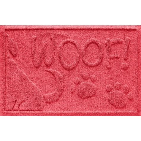 Bungalow Flooring Wag the Dog Red Mat