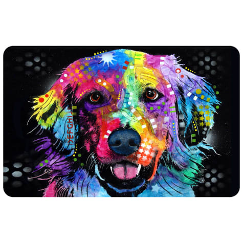 Bungalow Flooring Golden Dog Mat